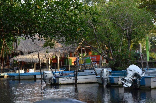 Photo of Embarcadero la aguado or the Watery Landing in the mangrove swamp near San Blas, Mexico