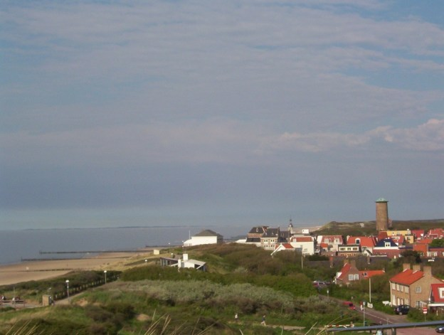 village of domburg on the north sea, the netherlands