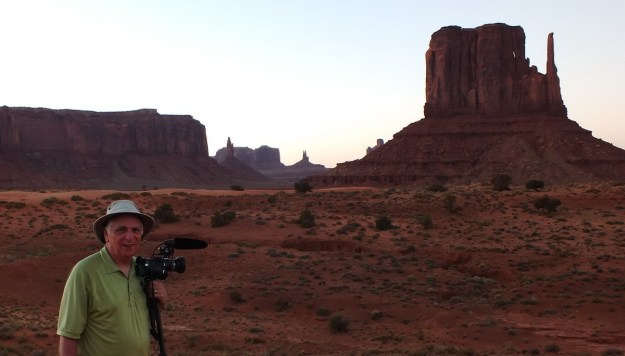 Bob in Monument Valley in Arizona, USA