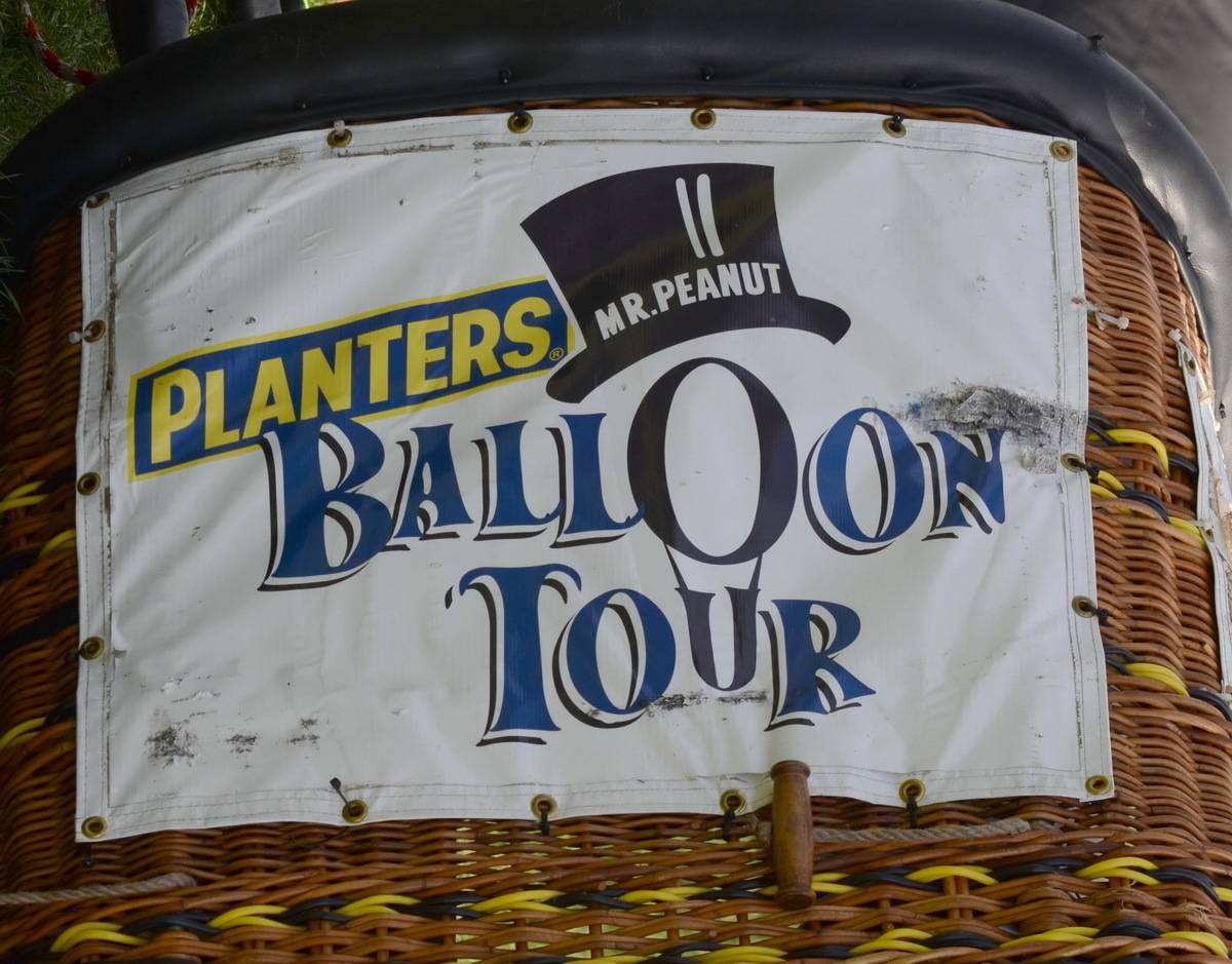 Mr Peanut The Hot Air Balloon Comes To Town