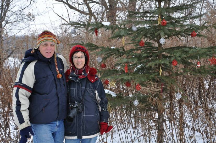 bob-and-jean-beside-christmas-tree-at-lynde-shores-conservation-area-whitby-ontario