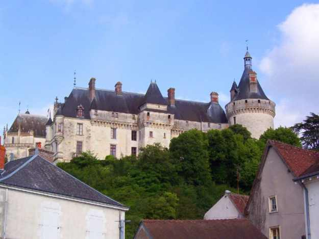 An image of Chateau de Chaumont in the Loire Valley in France.