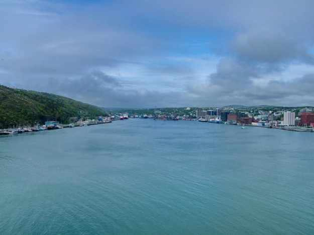 an image of St. John's harbour, Newfoundland, Canada