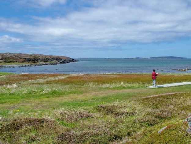 jean at l'anse aux meadows, newfoundland, canada