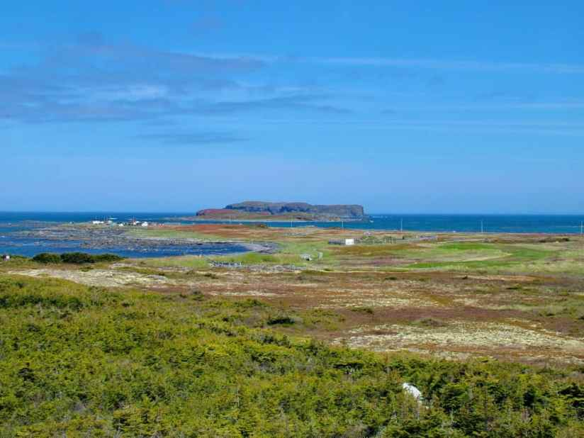 l'anse aux meadows at the tip of Great Northern Peninsula, Newfoundland, Canada