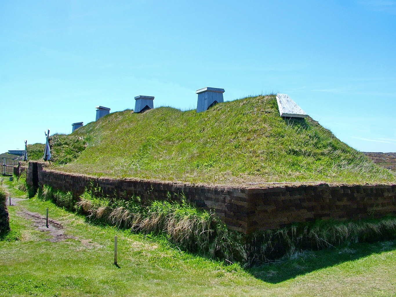 In The Footsteps Of Vikings At L Anse Aux Meadows