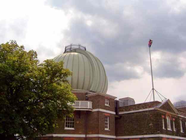 An image of the Royal Observatory in Greenwich, London, England.
