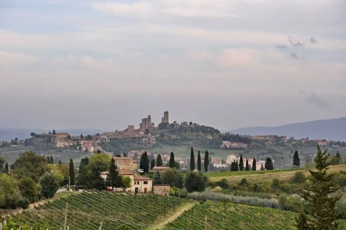 Image of San Gimignano in Italy