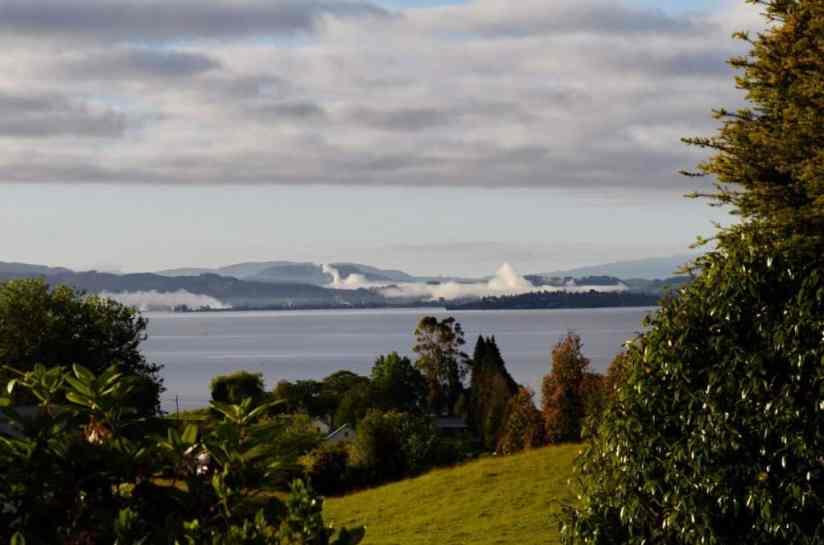 Image of Lake Rotorua, New Zealand