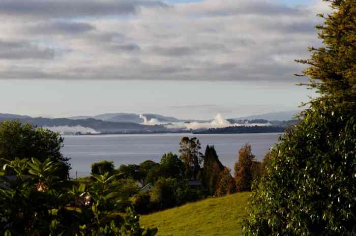 Image of Lake Rotorua, New Zealand