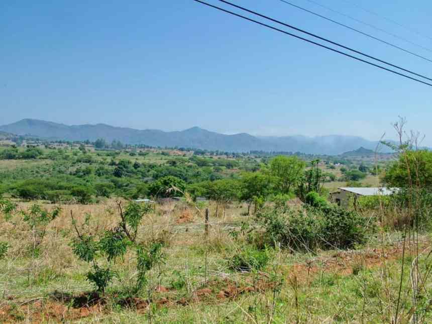landscape in swaziland, africa