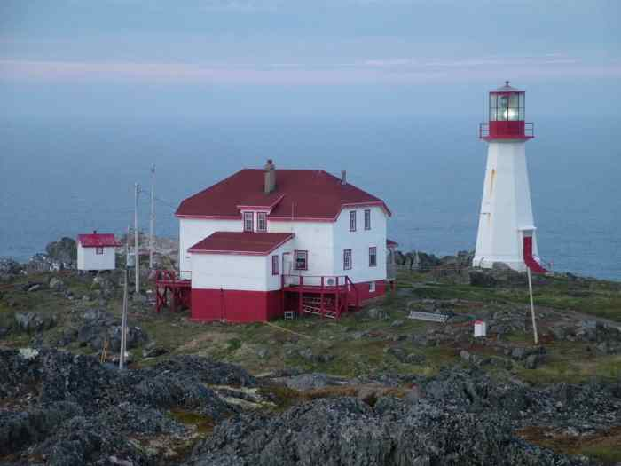 quirpon lighthouse and inn, quirpon island, newfoundland