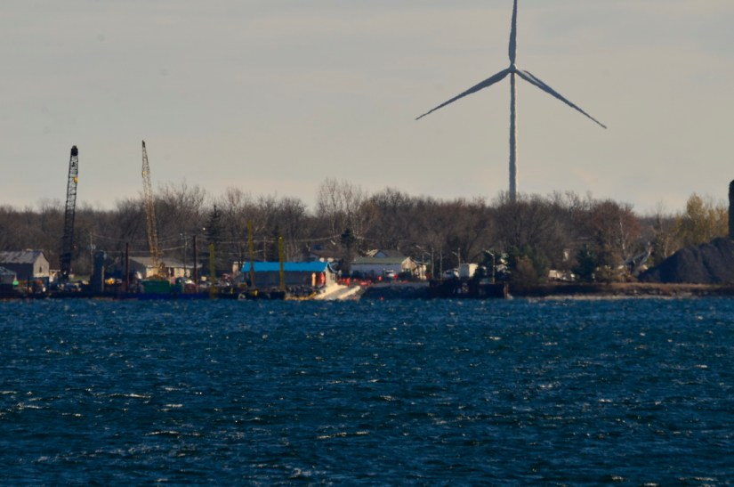 ferry landing, amherst island, ontario