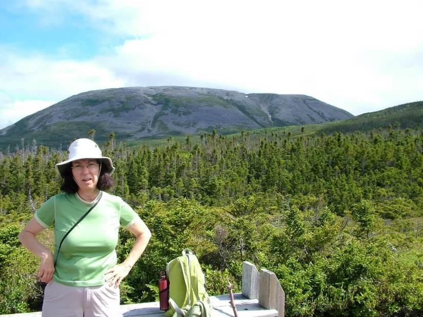 jean and gros morne mountain, newfoundland, canada