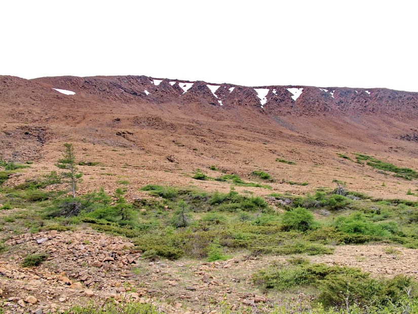 the tablelands, newfoundland, canada