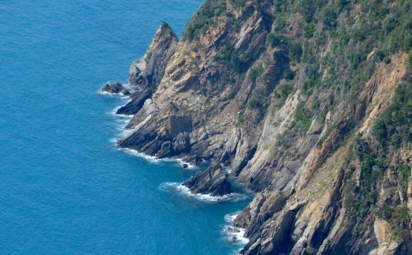 rugged coastline, ligurian sea, cinque terre, italy