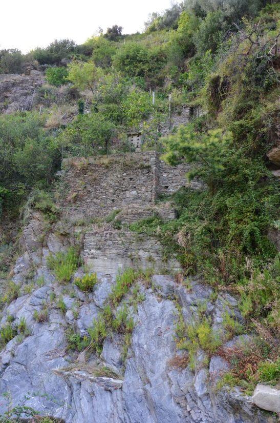 ancient buildings, vernazza, cinque terre, italy