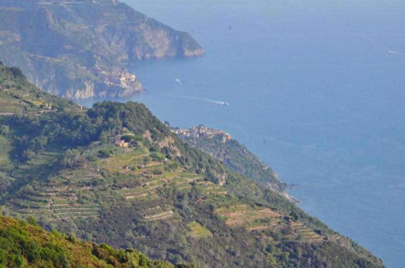 cinque terre coastline, manarola and corniglia, italy