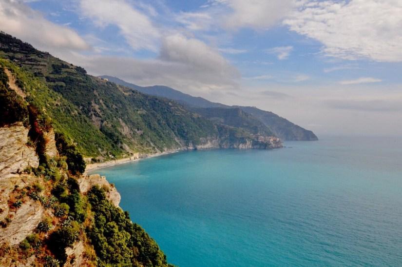 cinque terre coastline, italy