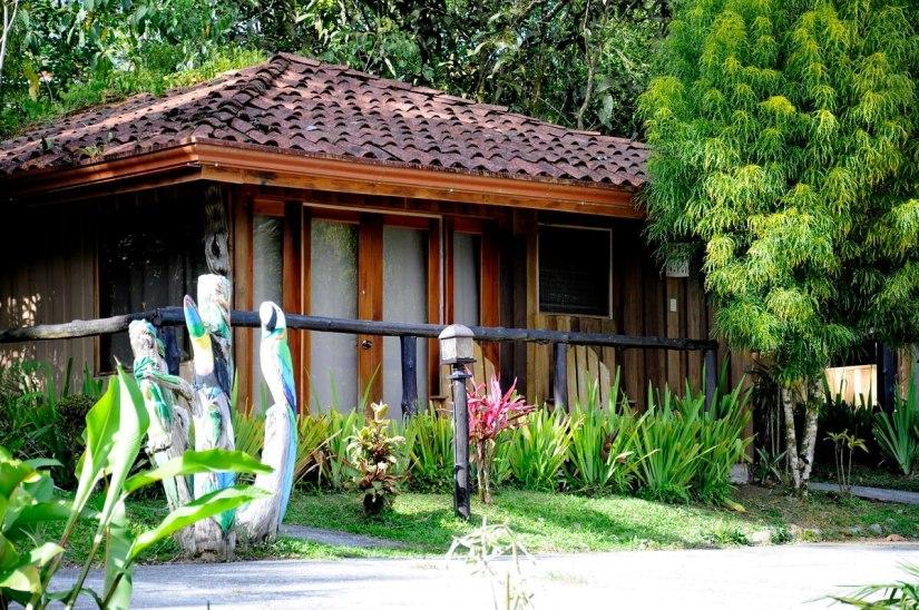 a cabin, kokoro lodge, la fortuna, costa rica