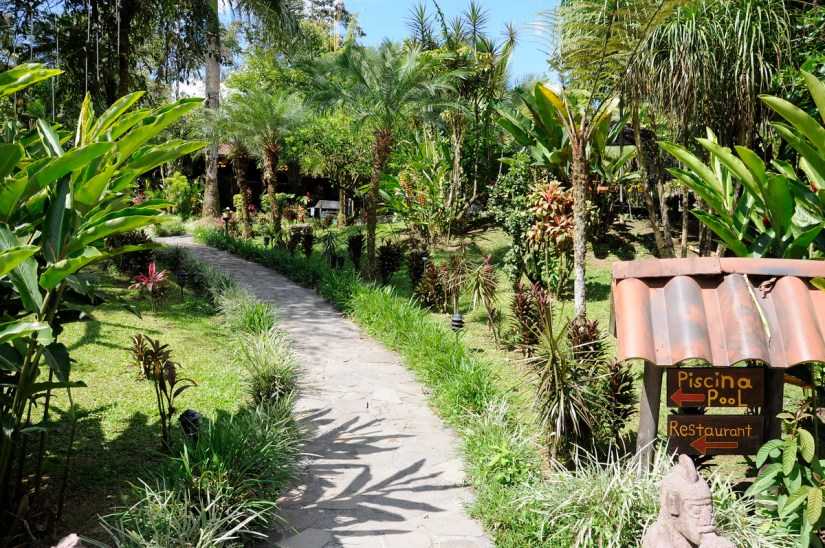 the grounds, kokoro lodge, la fortuna, costa rica