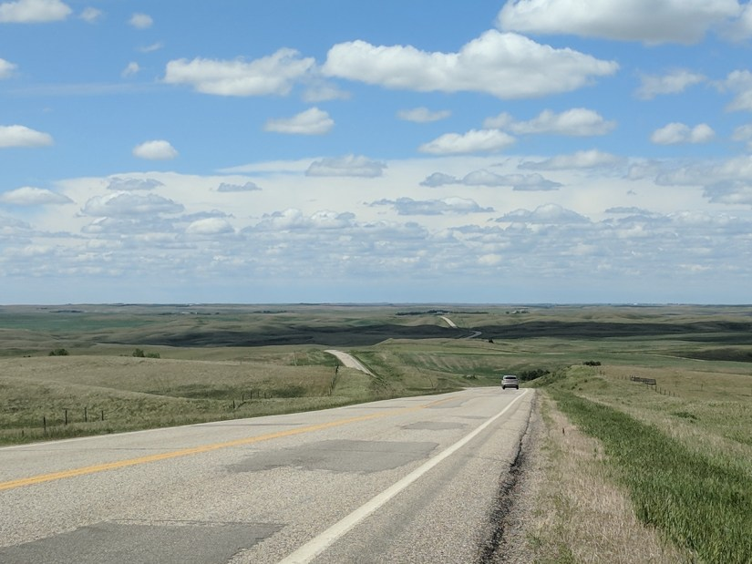 highway south of regina, saskatchewan