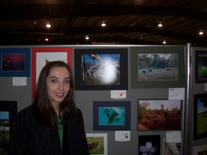a winner in the photography competition, markham fair, markham, ontario, 2006