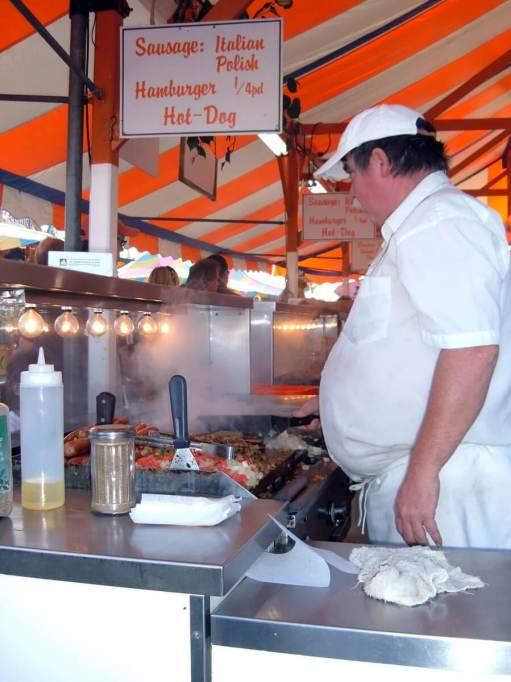 food stall, markham fair, markham, ontario, 2007
