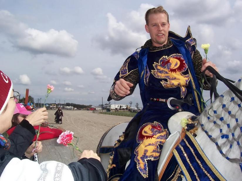 medieval knights, markham fair, markham, ontario, 2007
