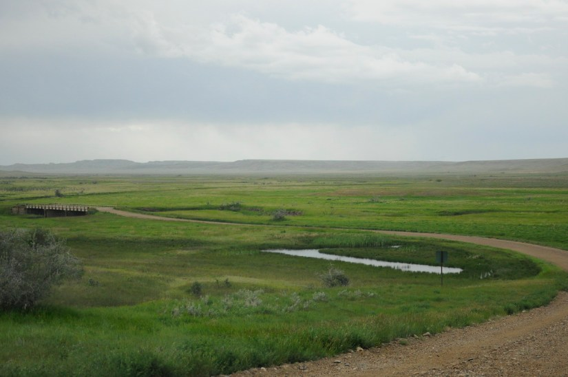 frenchman river, grasslands national park, saskatchewan
