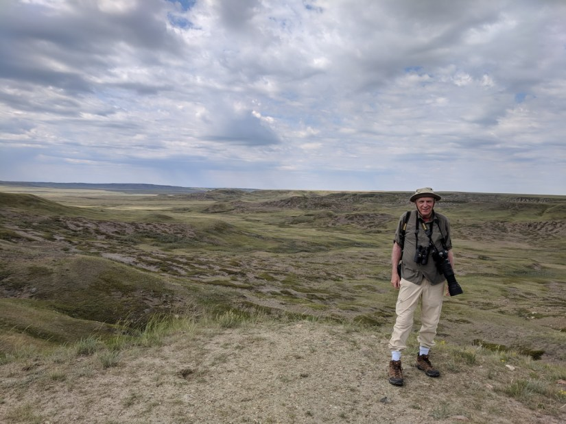 bob at laouenen coulee, grasslands national park, saskatchewan