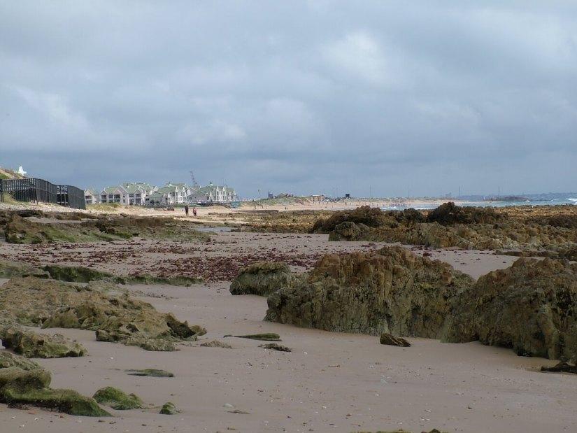 the beach, indian ocean, port elizabeth, south africa