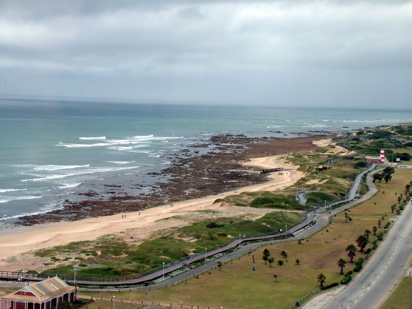 beach and boardwalk, port elizabeth, south africa
