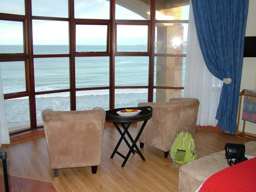 hotel room, mossel bay, south africa