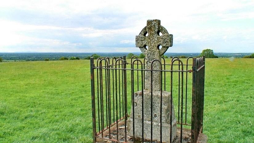 the Tara Cross, the hill of tara, county meath, ireland