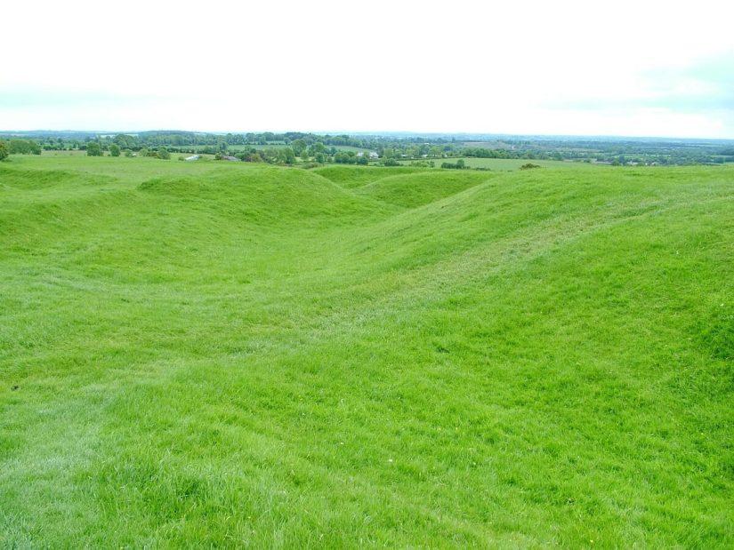 teach chormaic, the hill of tara, county meath, ireland
