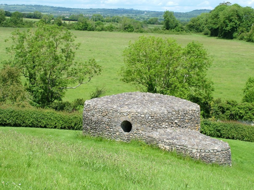 an outbuilding at newgrange, county meath, ireland