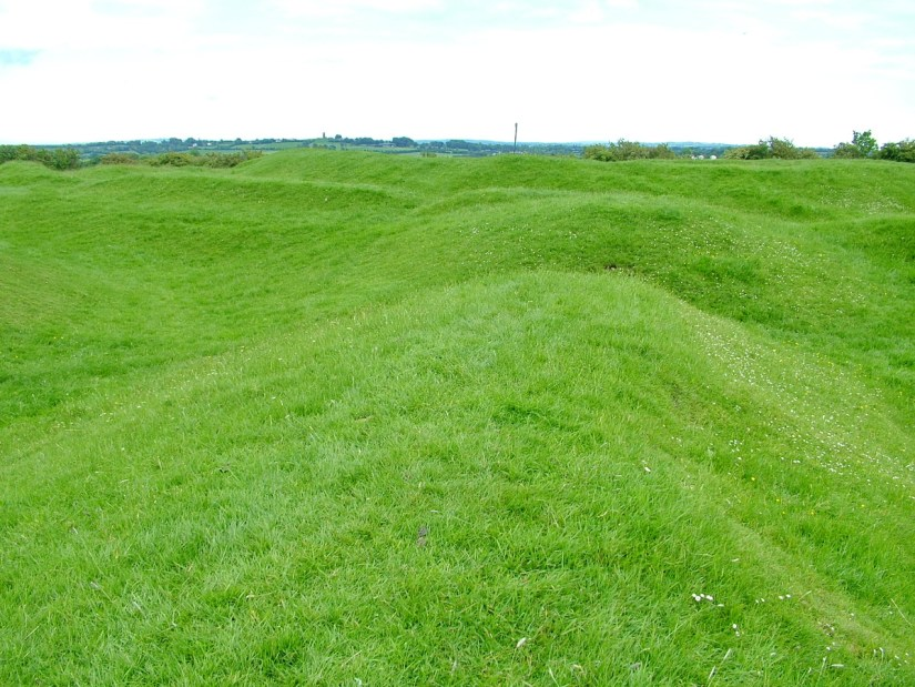an forradh, the mound of assembly, the hill of tara, county meath, ireland