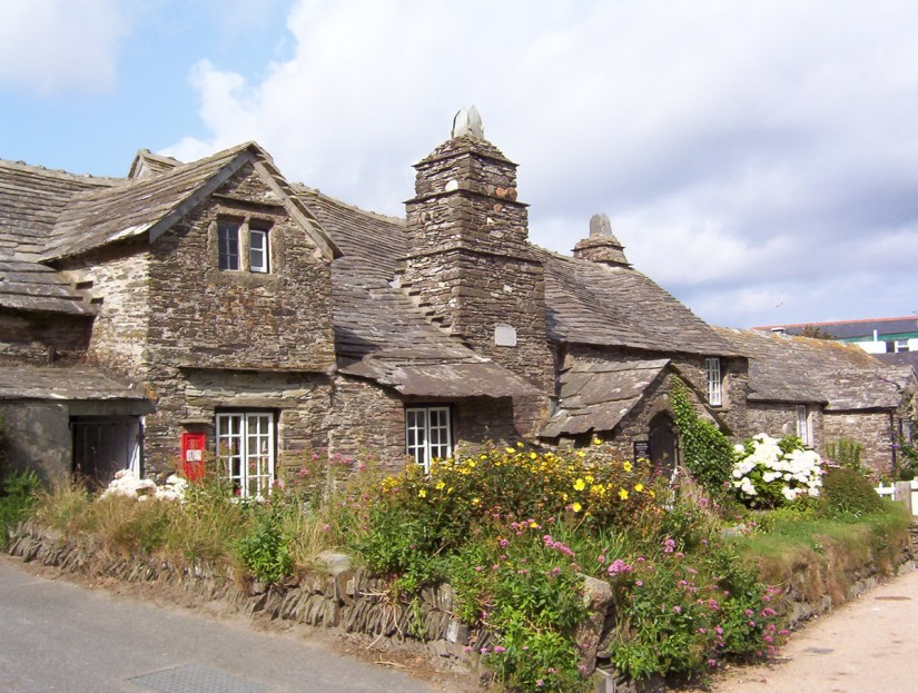 Tintagel Old Post Office, Cornwall, England