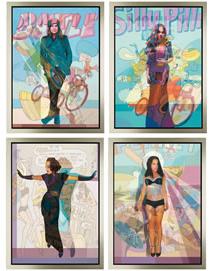 Stuart McAlpine Revealed A Personal Study (Set Of Four Prints)