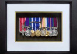8 Medal Opening Frame