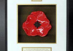 Irish-Guards-Ceramic-Framed-Poppy