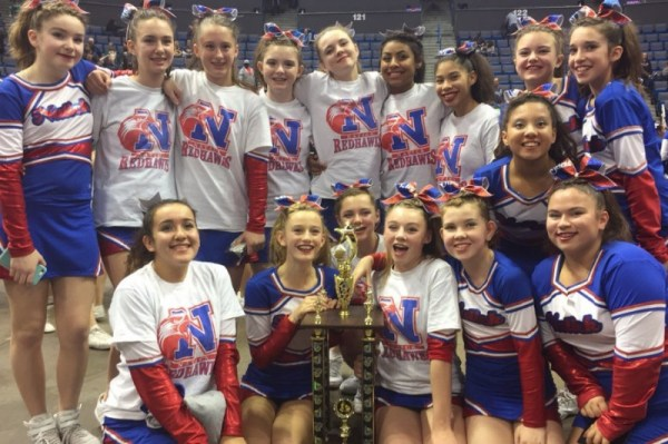Natick Youth Cheerleaders Qualified for Nationals Trying