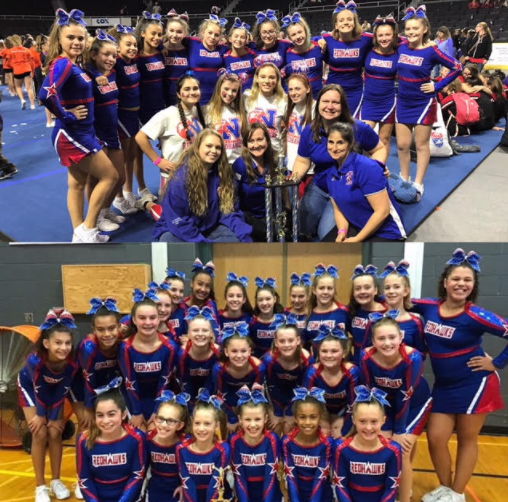 Natick Youth Cheerleading A and B Squads Off To Nationals