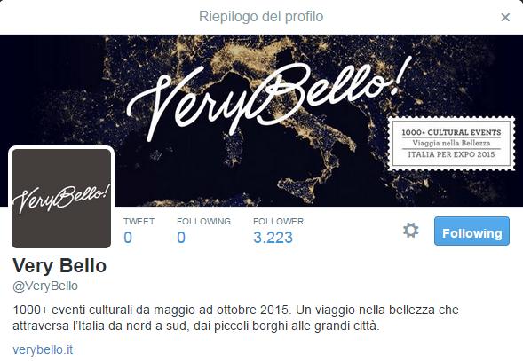 verybello Twitter