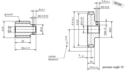 small resolution of dimensional drawing worm gear set a31