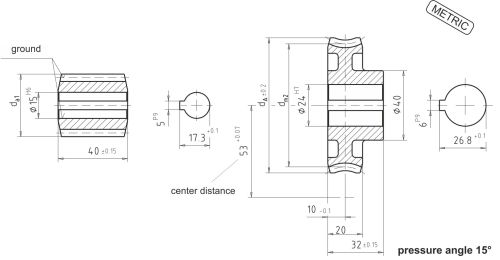 small resolution of dimensional drawing worm gear set a53