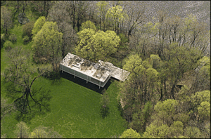 Casa Farnsworth Ludwig Mies van der Rohe  WEED OFF