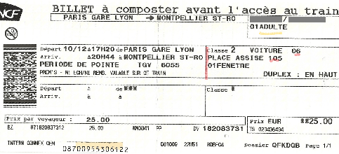 Rserver Un Billet De Train Appli FL