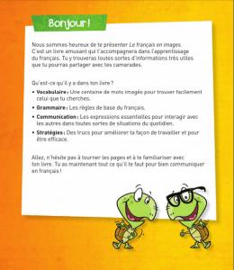 كتاب تعلم اللغة الفرنسية بالصور Le Français en images